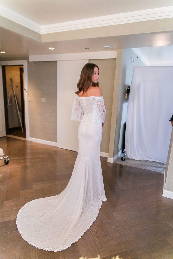 Top 5 Favorite Boho Wedding Dresses From Ny Bridal Market 2018,Beaded Bodice Wedding Dress With Tulle Skirt