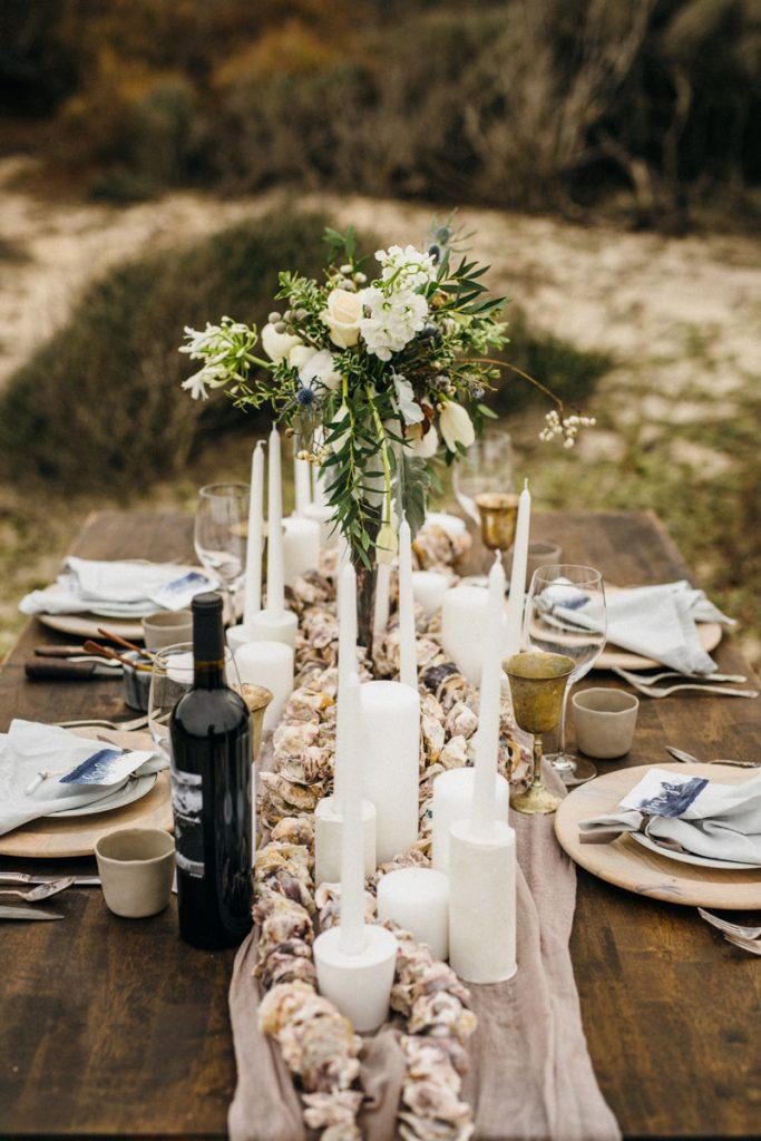 Intimate Winter Beach Wedding Inspiration | Southern Bride & Groom