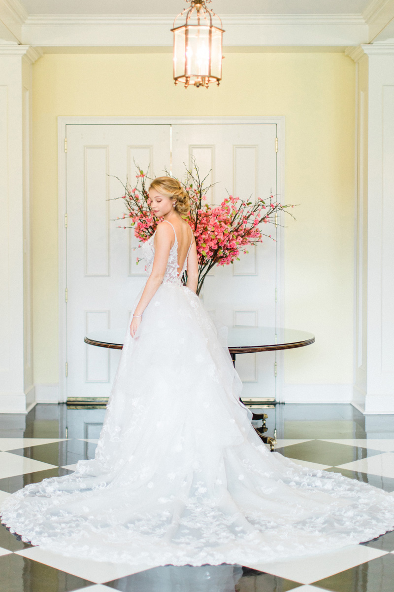 Long-full-lace-train-on-Eve-of-Milady-wedding-gown-from-The-Wedding-Dress-Shoppe-in-Wilmington-Bronwyn-Duffield