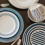 Stripes and Polka Dot Kate Spade Mix and Match dinnerware from Belk, Fancy This