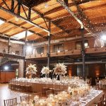 Wedding Ceremony in WArehouse Venue Bay 7 on AMerican Tobacco Campus