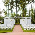 Ceremony on the golf course at Brier Creek Country Club