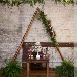 Repurposed wedding arbor as reception decor at the stockroom, brian mullins
