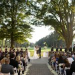 Golf course wedding at Washington Duke Inn Golf Club