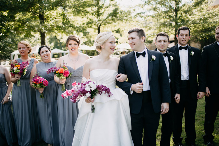 Bridal party portraits at The Umstead Hotel and Spa2