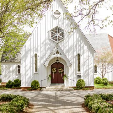 St Marys Chapel in Raleigh Wedding Venue, Richard Barlow