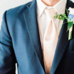 Groom Suit Ideas for Wedding Day Navy Suit from Bernards Formalwear Durham North Carolina