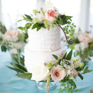 Royal Wedding Trends White Tiered Wedding Cake