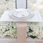White and Blush Wedding Decor from Raleigh Wedding Florist Fresh Affairs, Jamie Blow