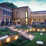 Gregg Museum of Art & Design Raleigh NC wedding venue and outdoor garden space
