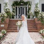 Bride at Rose Hill Chad Biggs wedding by Southern Love Studios