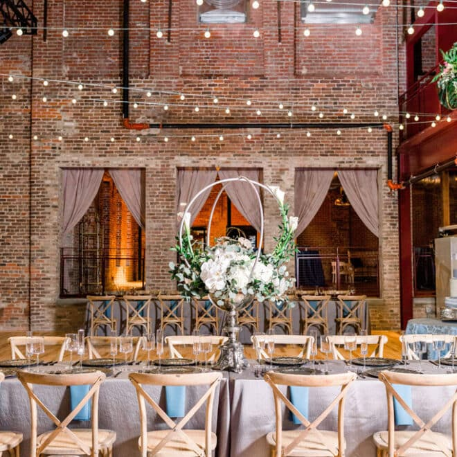 power house at rocky mount mills warehouse wedding venue