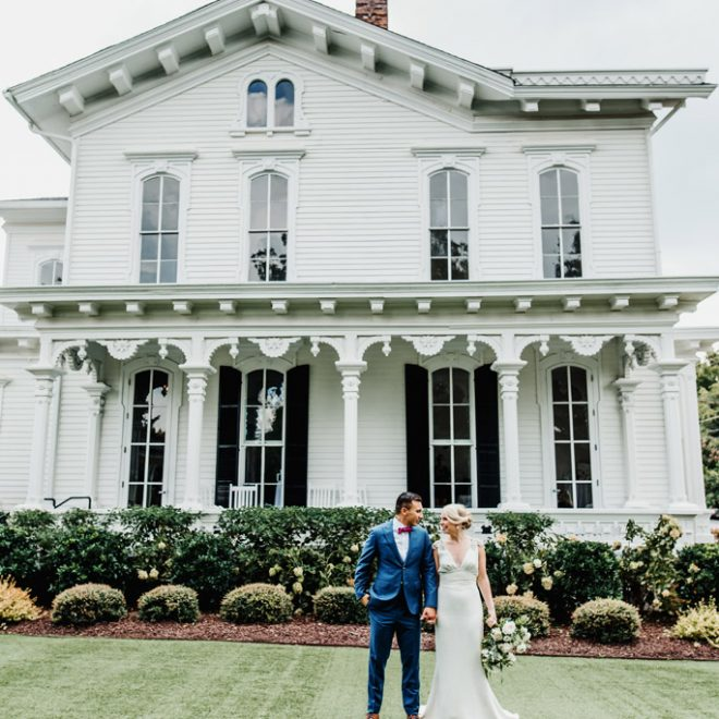 Big Fake Wedding Raleigh at Merrimon Wynne House by Morgan Caddell Photography