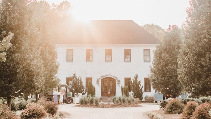 The Bradford – a French villa styled country estate near Chapel Hill and Raleigh Jillian Knight Photography