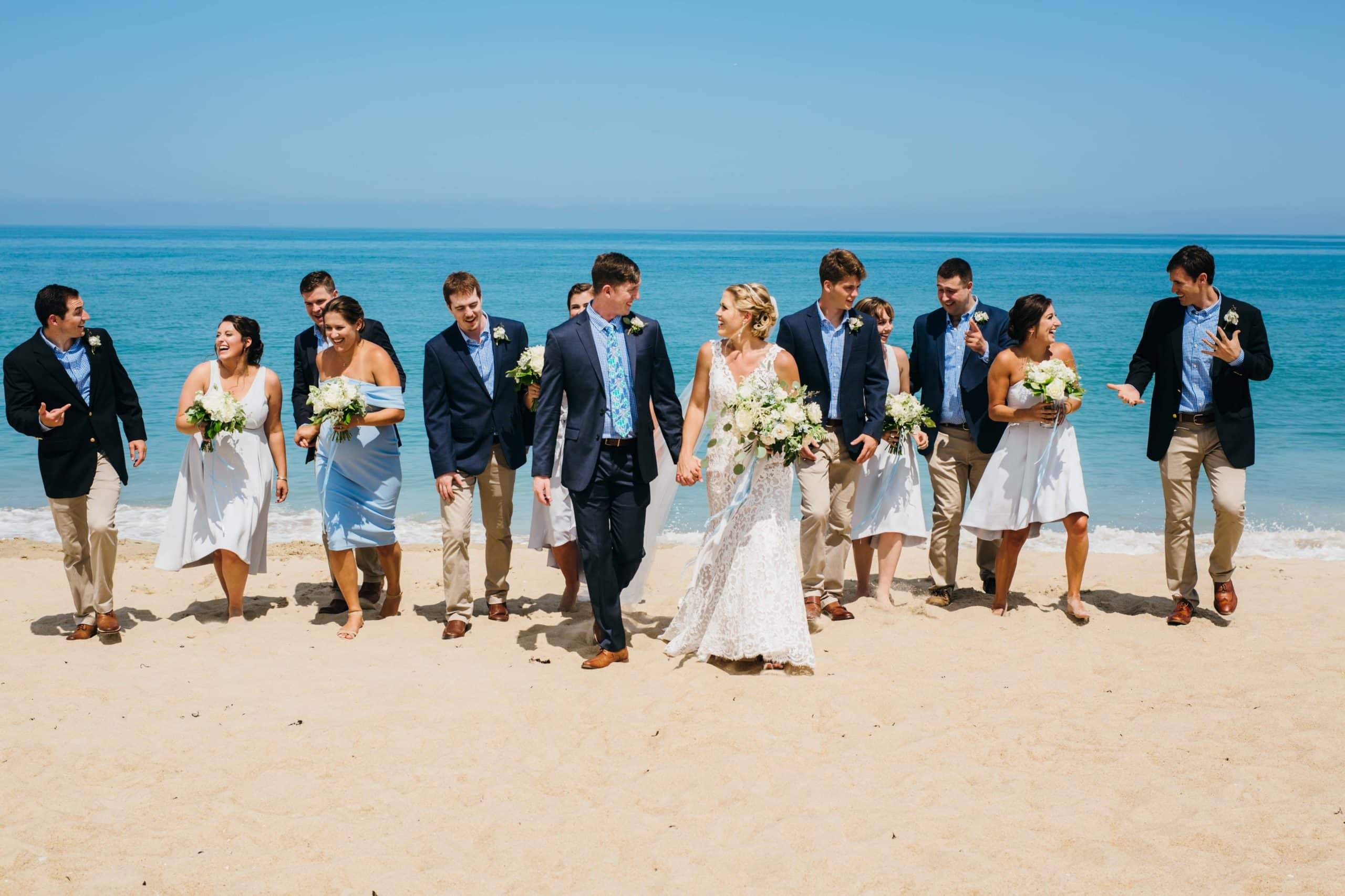 Summer Beach Wedding by Sarah D'Ambra Photography