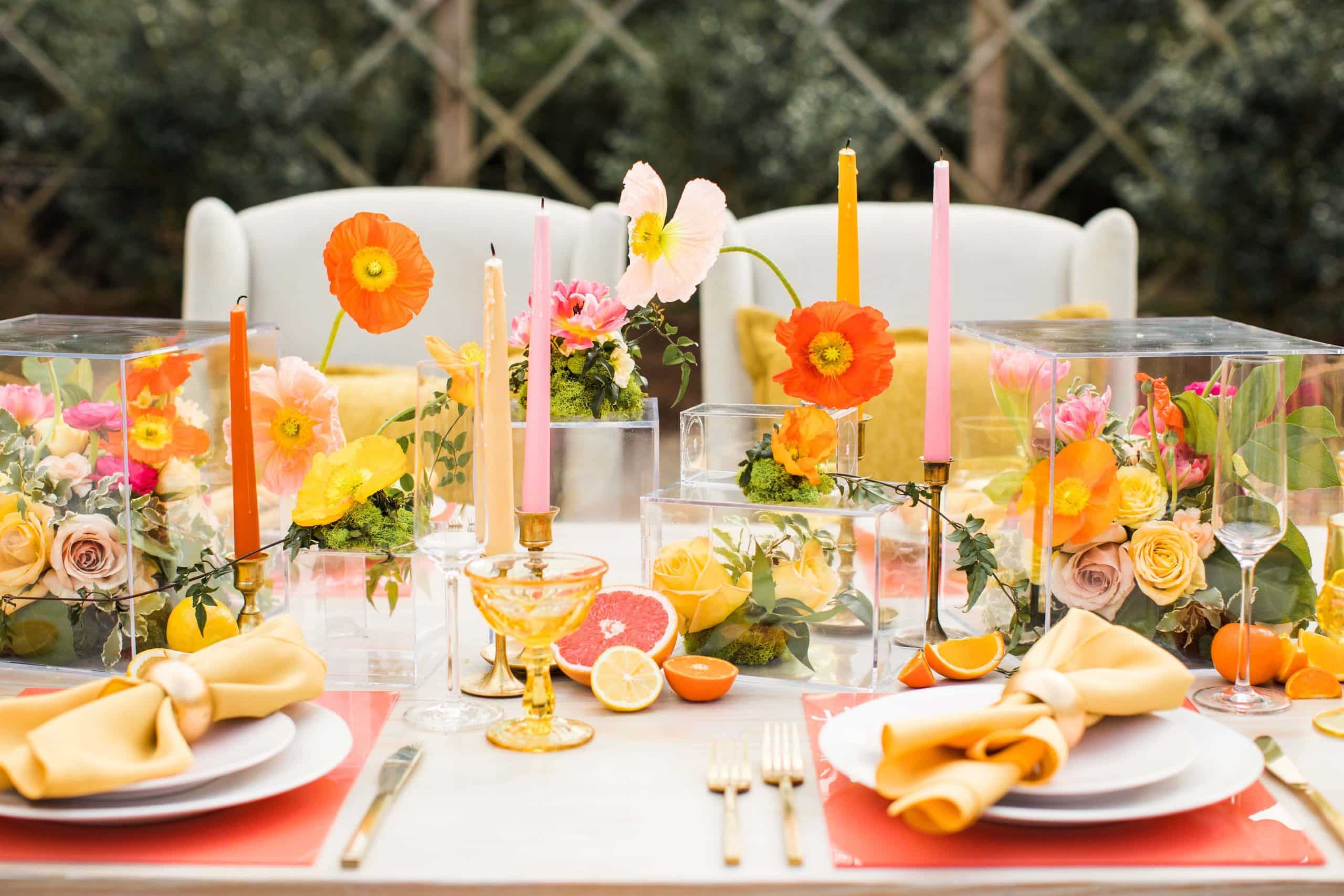 Wedding Theme for Summer Lemon Party Decor Ideas