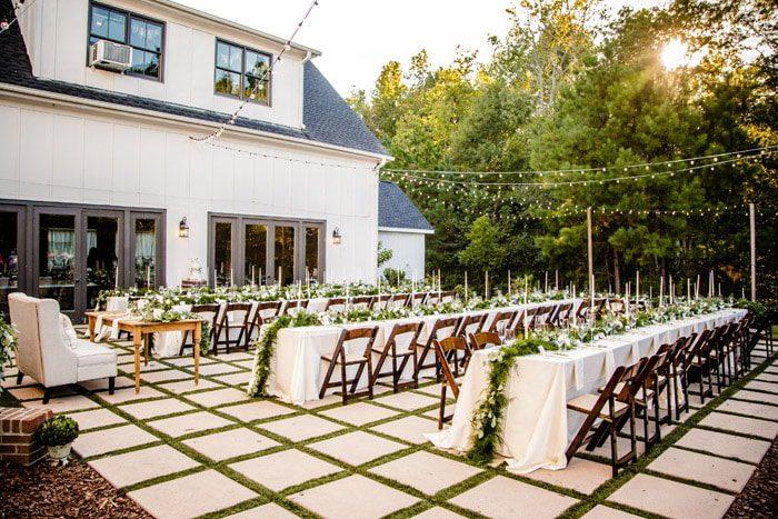 The Bradford Outdoor Wedding Venue Raleigh Nc