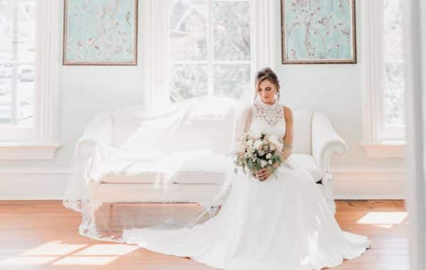 Beautiful Bride Merrimon Wynne Raleigh NC Wedding Jilliank Knight Photography