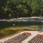 Brown Mountain Beach Resort Wedding Ceremony by River AMW Studios