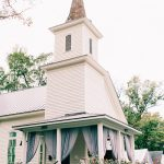 The Parlour at Manns Chapel Whimsical White Steeple Fall Wedding Ideas at Chapel Hill NC Wedding Venue Maunder