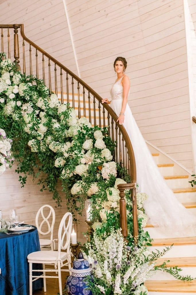 Hydrangea Wedding Flowers And Decor Petal Oak Florist Raleigh Nc