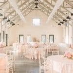 Romantic Barn Wedding Board and Batten Events Pink Boho Flower Style Decor McKenna Bleu Charlotte Wedding Breathe J
