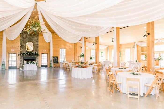 Reception Decor Oakland Farm NC Wedding Venue with Barn, Pavilion and Farmhouse Tiffany Johnson Photography 3