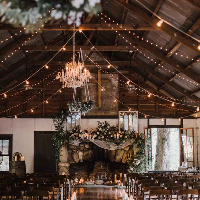 Ceremony Space Brown Mountain Beach Resort Wedding by Jillian Knight Photography