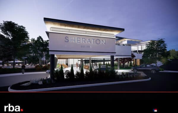 The Sheraton Chapel Hill Hotel A Luxury Hotel and Wedding VenueRendering