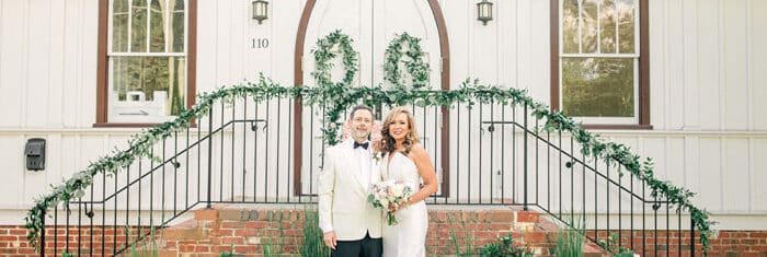 Bride and Groom Portrait All Saints Chapel Raleigh Micro Wedding by Java Rose Photography