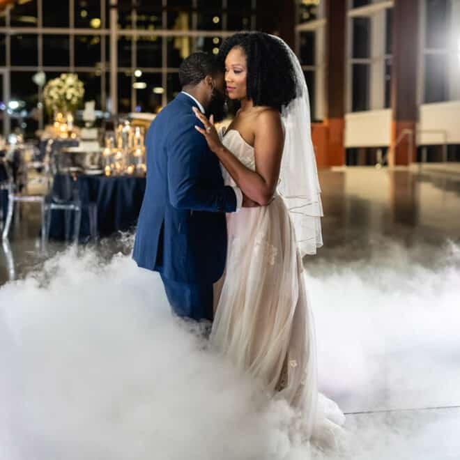 First Dance Raleigh Union Station Wedding Venue in Downtown Raleigh Barlow