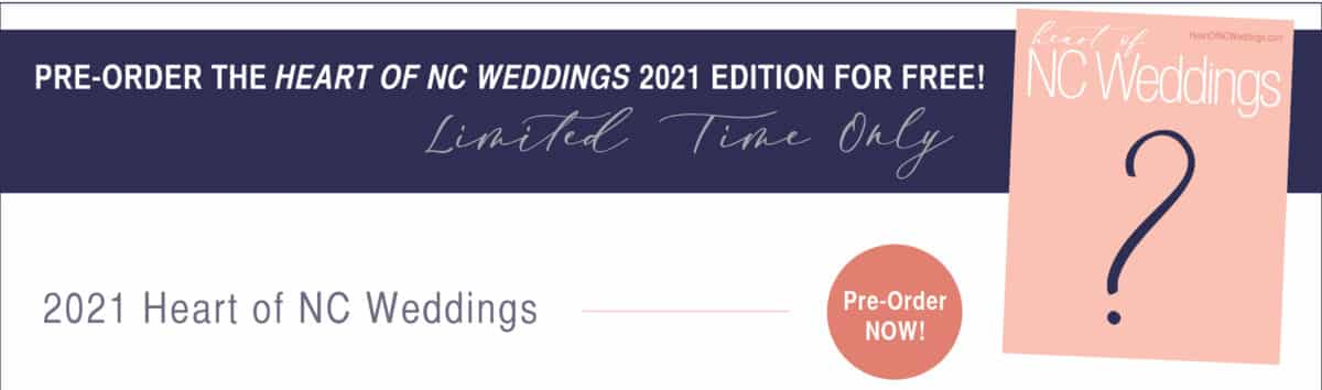 Heart of NC Weddings Magazine Free Preorder Link