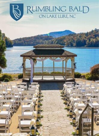 Rumbling Bald on Lake Lure Destination Wedding Venue NC Mountains