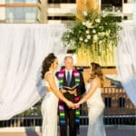 Sunset Wedding Ceremony Raleigh Union Station Wedding Venue in Downtown Raleigh Barlow