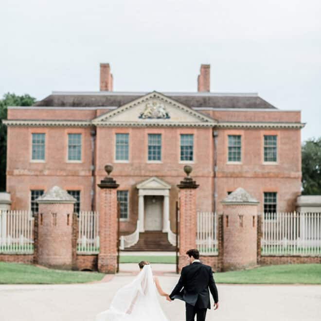 Bride Groom Thornbury Brides Tryon Palace New Bern Wedding Destination Styled The French Bee Events Cynthia Rose