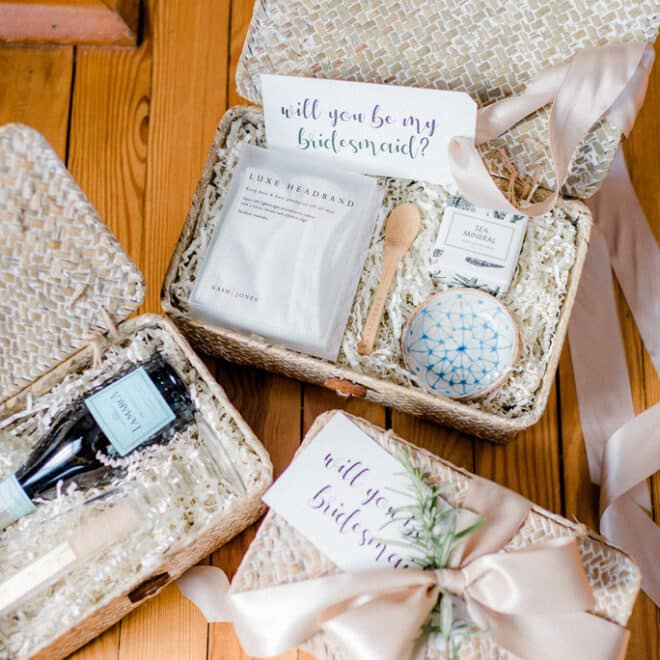 Local Bridesmaid Gifts New Bern Wedding Destination Styled by The French Bee Events Shop Small Batch Cynthia Rose