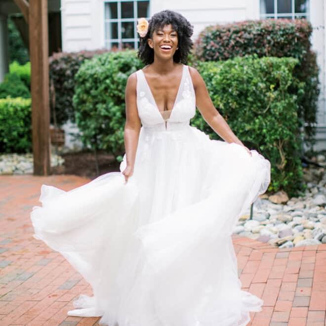 Thornbury Bride Gilded Bridal NC Wedding Dress and Fashion Photo Shoot in Raleigh Blissmore