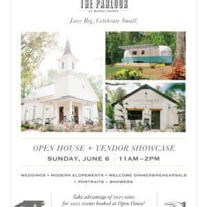 Invitation for open house_HONC