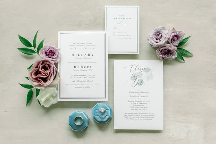 Wedding Invitation SuiteWho Pays for What in a Modern Wedding Beaufort Hotel, NC WeddingDanielle Flake