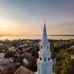 St. Michaels Sunrise Explore Charleston - Plan Your Wedding, Honeymoon, Bachelorette Party