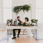 Sweetheart Table Affordable Elegance at The Cannon Room in Downtown Raleigh NCBrett Seay
