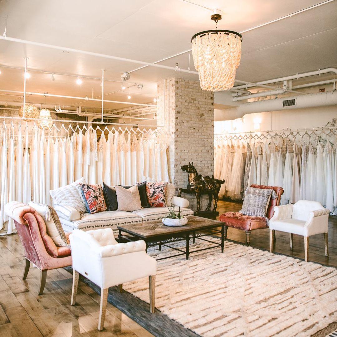 Gilded Bridal Showroom Raleigh NC Wedding Dress Store